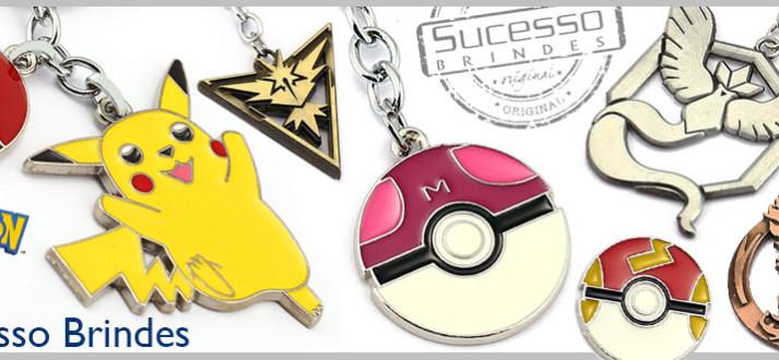 chaveiro pokemon, brinde pokemon, pokemon go