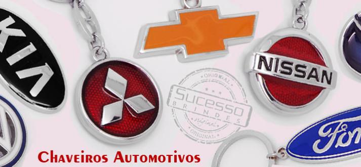 Chaveiro carro ou chaveiro para carro, fabricados em metal